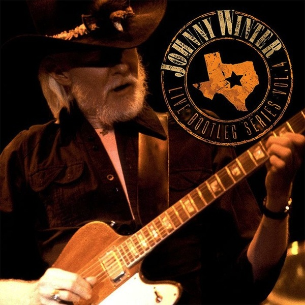 JOHNNY WINTER - V4 LIVE BOOTLEG SERIES LP