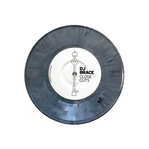 "DJ BRACE - CLOSE CUTS 7"" (OLIVE GREEN MARBLE VINYL)"