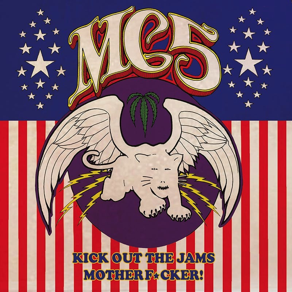 MC5 - KICK OUT THE JAMS MOTHER F*CKER LP LTD RED WHITE & BLUE SPLATTER VINYL