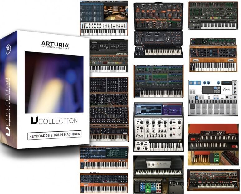 Arturia -  V-Collection 4 - Vintage Instruments Software Bundle (Download)