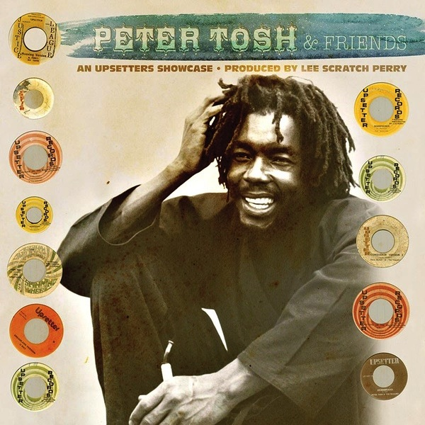 PETER TOSH & FRIENDS - AN UPSETTERS SHOWCASE LP (180G, COLOURED VINYL)