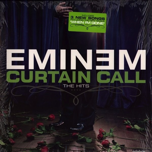 EMINEM - CURTAIN CALL: THE HITS 2LP