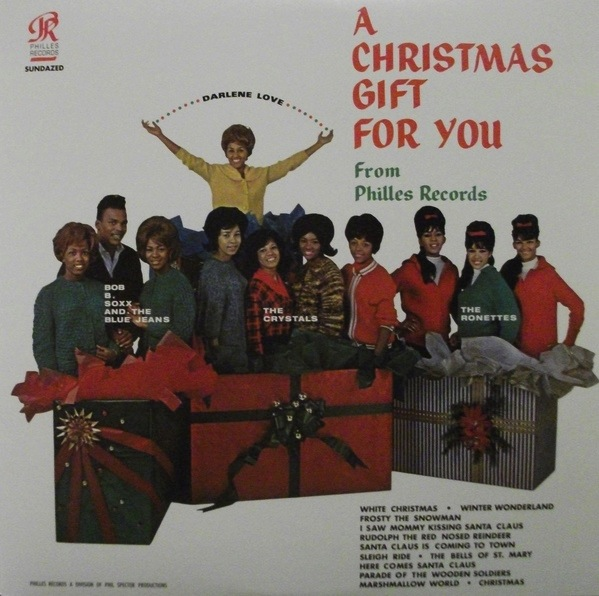 PHIL SPECTOR - A CHRISTMAS GIFT FOR YOU LP