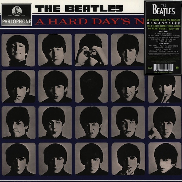 THE BEATLES - A HARD DAY'S NIGHT LP