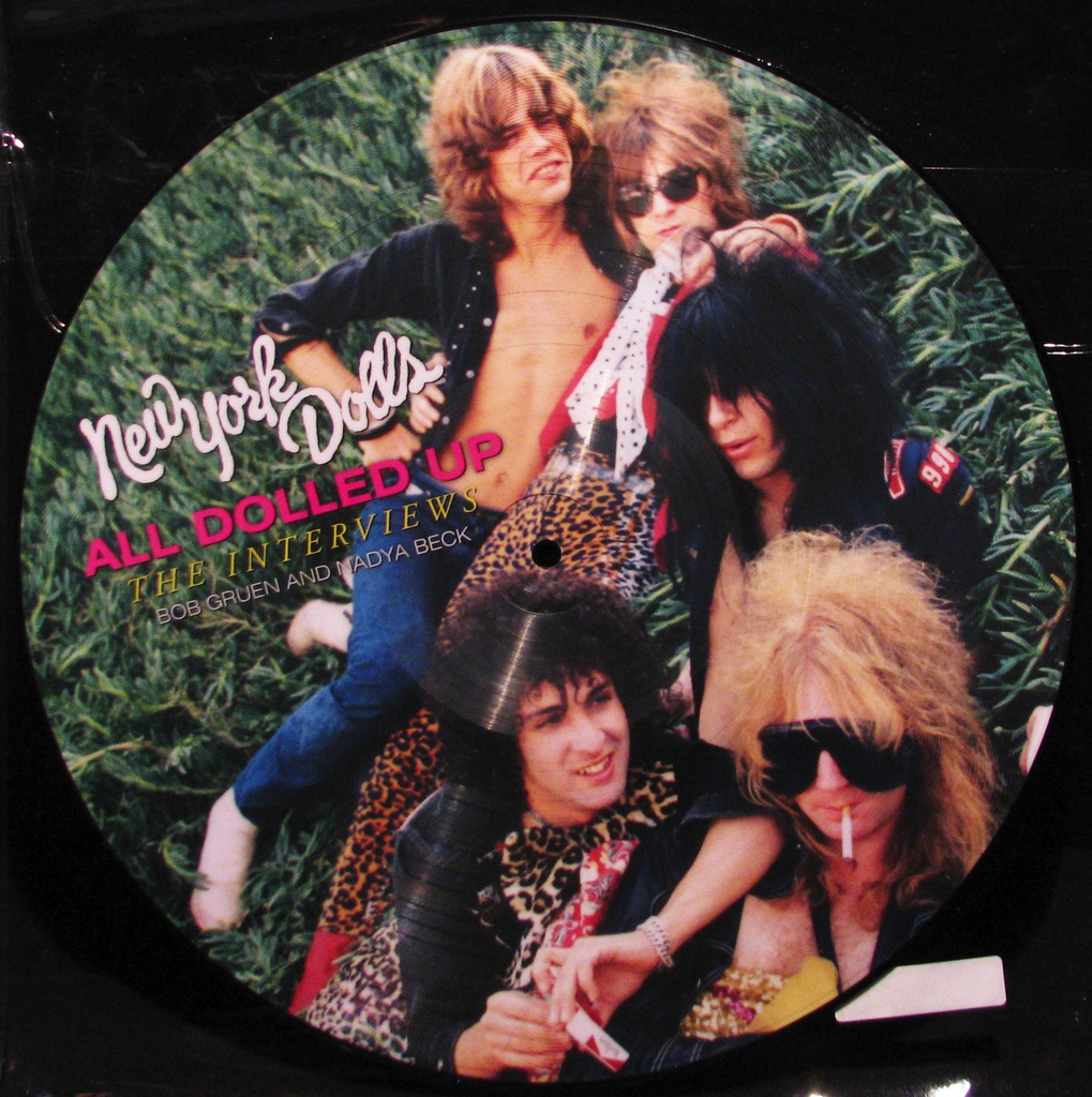 NEW YORK DOLLS - ALL DOLLED UP (PIC DISC) LP