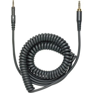 Audio-Technica - Headphone Cable Replacement Coiled Cable- M40x/M50x
