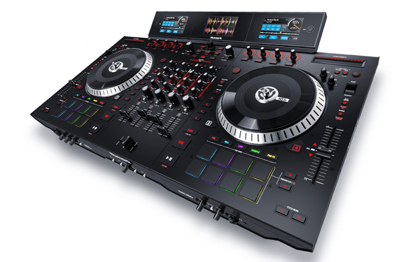 Numark - NS7 III 4-Channel Motorized DJ Controller & Mixer w/Screens