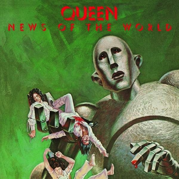 QUEEN - NEWS OF THE WORLD LP