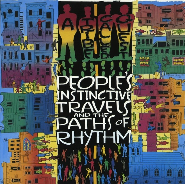 A TRIBE CALLED QUEST - PEOPLE'S INSTINCTIVE TRAVELS & THE PATHS OF RHYTHM 2xLP