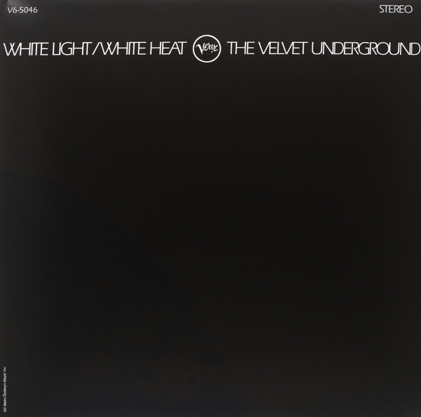 THE VELVET UNDERGROUND - WHITE LIGHT/WHITE HEAT LP