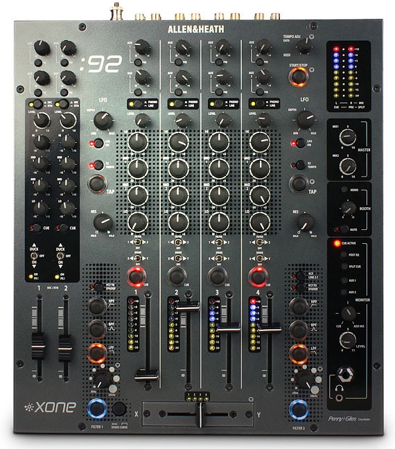 Allen And Heath - Xone 92 Dj Mixer