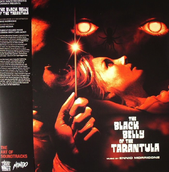 ENNIO MORRICONE - THE BLACK BELLY OF THE TARANTULA SOUNDTRACK 2LP