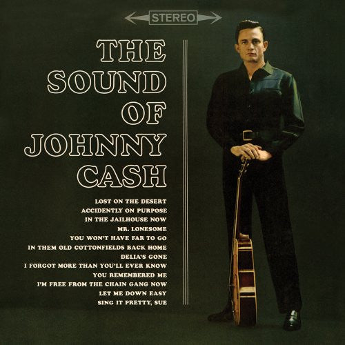JOHNNY CASH - SOUND OF JOHNNY CASH (180G) LP