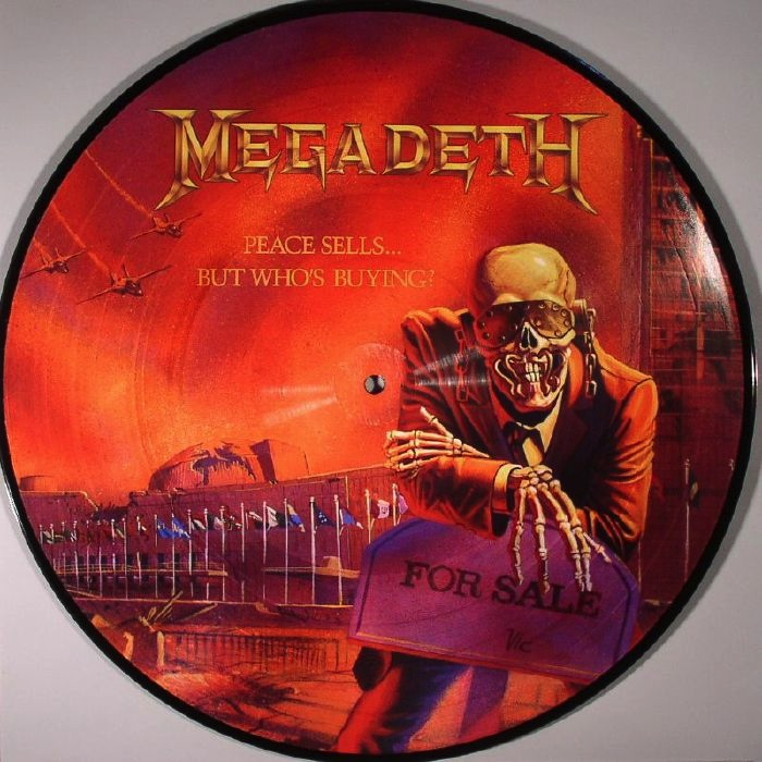 MEGADETH - PEACE SELS WHO'S BUYING LP (PICTURE DISC)