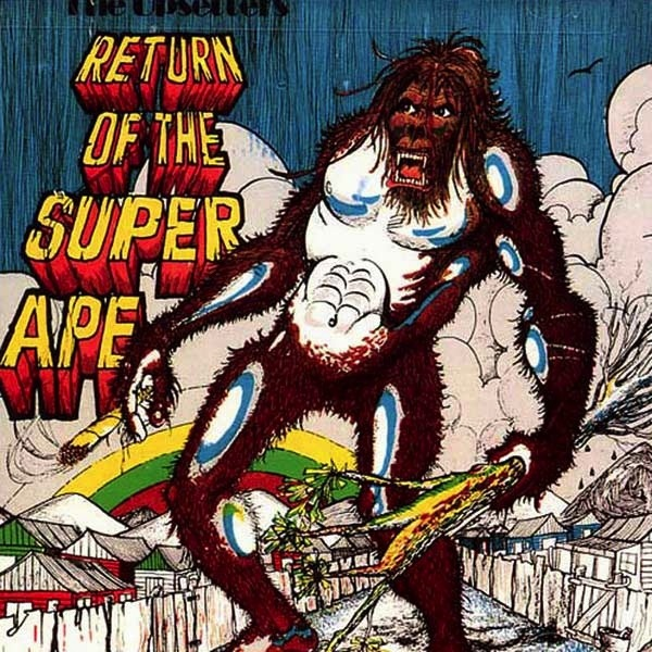 THE UPSETTERS - RETURN OF THE SUPER APE LP