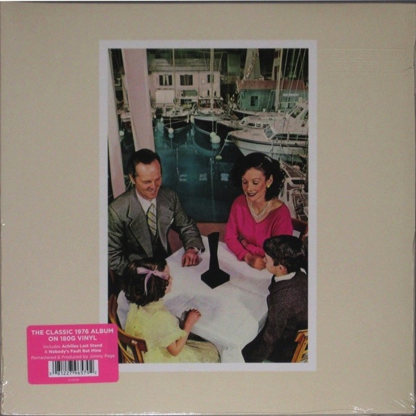 LED ZEPPELIN - PRESENCE LP 180 GRAM)