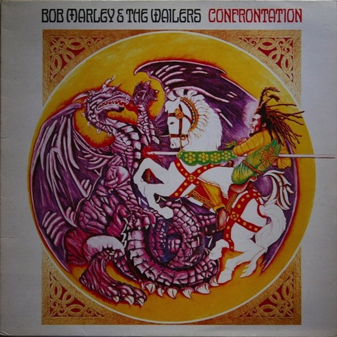 BOB MARLEY - CONFRONTATION LP
