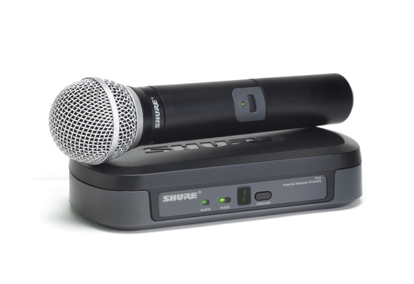 Rental - Shure PG58 (Wireless Microphone)