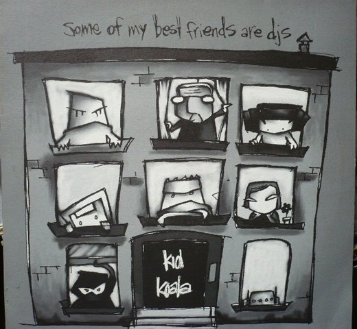 KID KOALA - SOME OF MY BEST FRIENDS ARE DJS 2LP