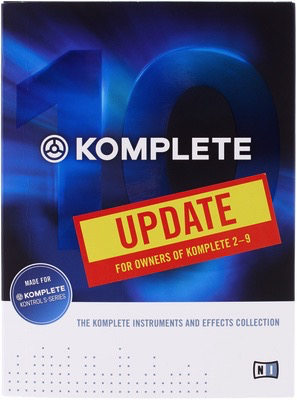NATIVE INSTRUMENTS - KOMPLETE 10 UPGRADE SOFTWARE