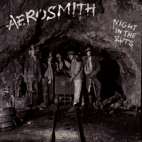 AEROSMITH - NIGHT IN THE RUTS LP