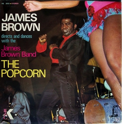 JAMES BROWN - THE POPCORN LP