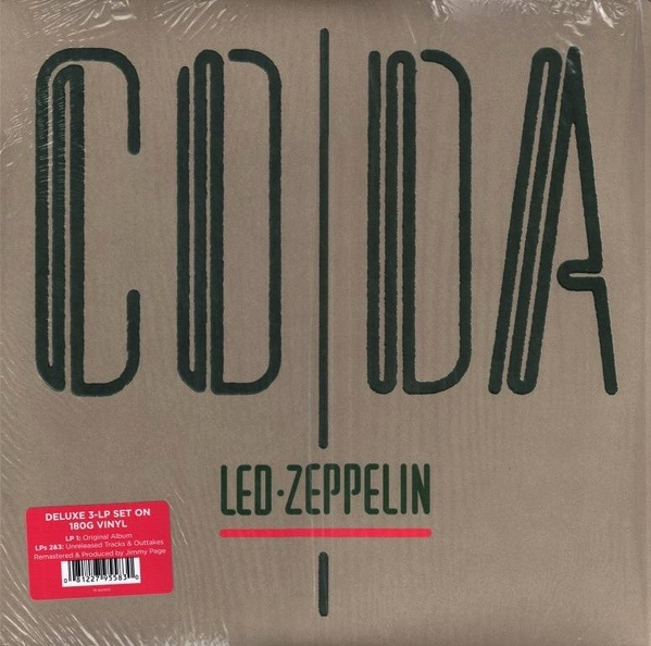LED ZEPPELIN - CODA LP (180 GRAM)