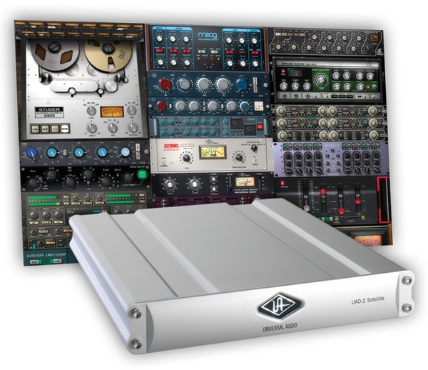 Universal Audio  - UAD-2 Satellite Quad Core Firewire 400/800