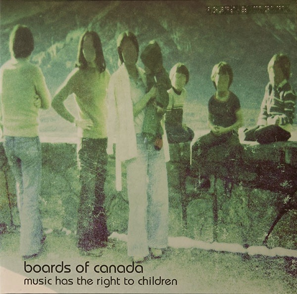 BOARDS OF CANADA - MUSIC HAS THE RIGHT TO CHILDREN 2LP