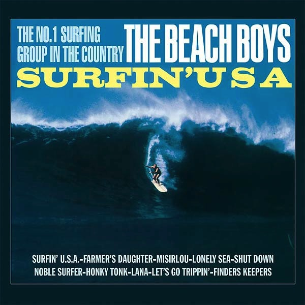 THE BEACH BOYS - SURFIN' USA LP