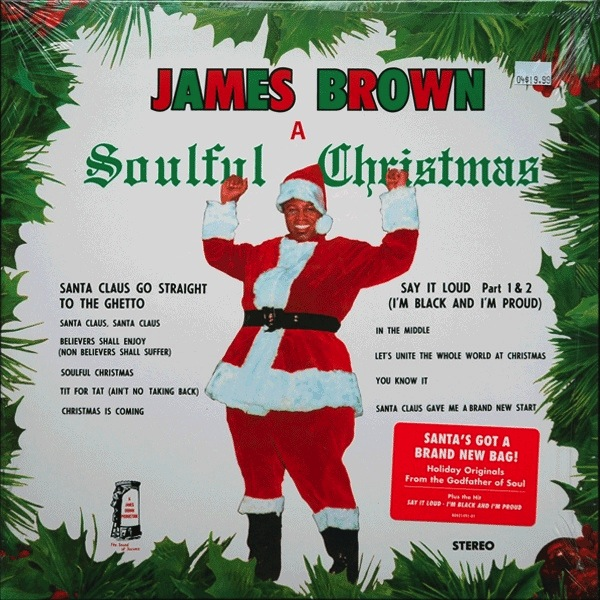 JAMES BROWN - A SOULFUL CHRISTMAS LP
