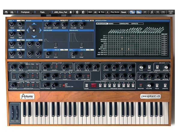 Arturia - Prophet V Software Synthesizer (Download)
