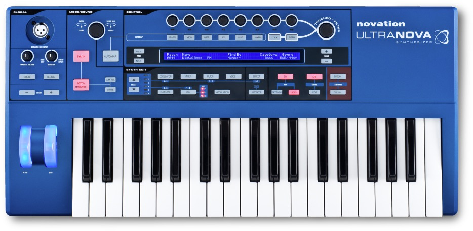Novation - Ultranova  Synthesizer