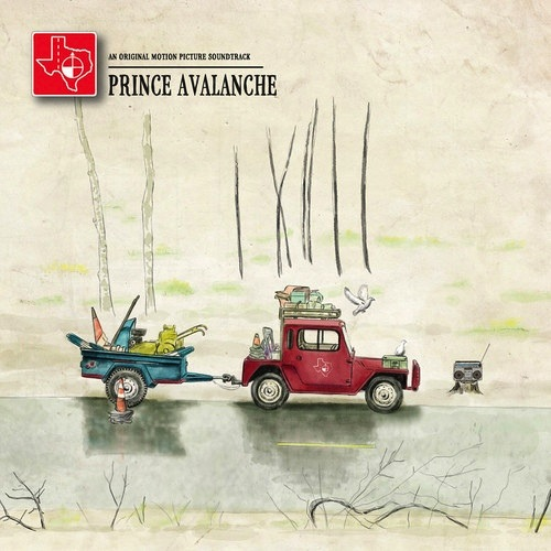 EXPLOSIONS IN THE SKY & DAVID WINGO - PRINCE AVALANCHE SOUNDTRACK LP