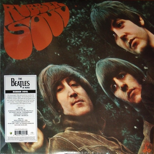 THE BEATLES - RUBBER SOUL LP (MONO VERSION)