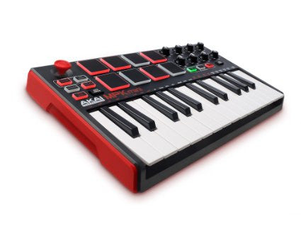AKAI - MKP MINI MKII COMPACT KEYBOARD AND PAD CONTROLLER