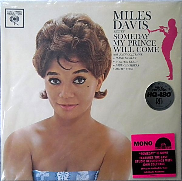 MILES DAVIS SEXTET - SOMEDAY MY PRINCE WILL COME LP (MONO)