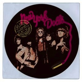 NEW YORK DOLLS - LIVE AT RADIO LUXEMBOURG: PARIS 1973 (PICTURE DISC) LP