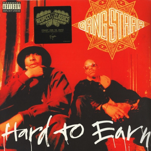 GANG STARR - HARD TO EARN 2LP