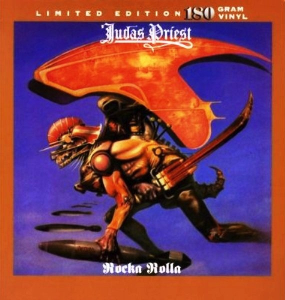 JUDAS PRIEST - ROCKA ROLLA LP (180 GRAM) LTD