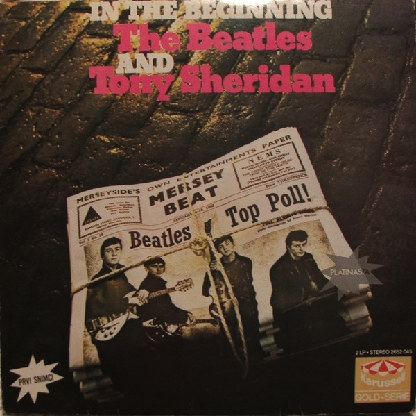 BEATLES, THE FEAT. TONY SHERIDAN - IN THE BEGINNING 2LP