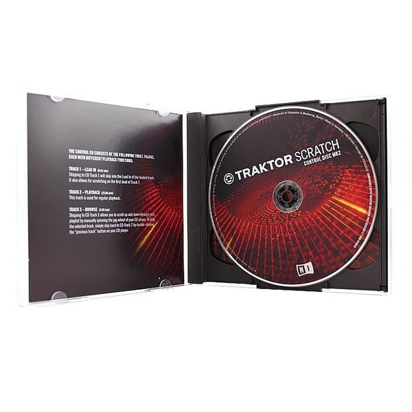 Native Instruments - Traktor Scratch Pro Replacement Cd Mk2