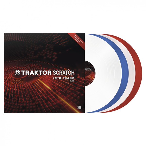 Native Instruments - Traktor Scratch Control Vinyl Mk2 Blue