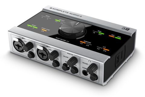 NATIVE INSTRUMENTS - KOMPLETE AUDIO 6 CHANNEL PREMIUM AUDIO INTERFACE