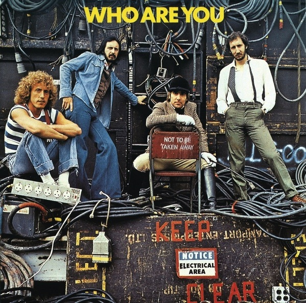 THE WHO - WHO ARE YOU? LP