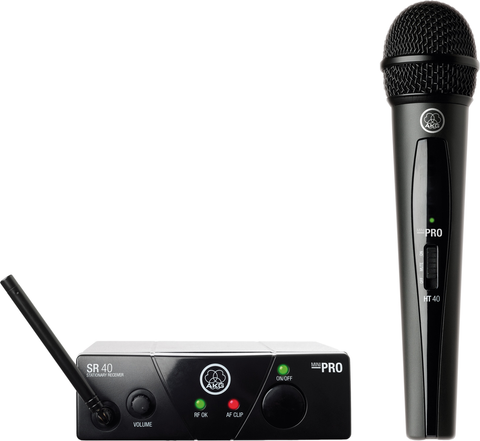 AKG - WMS 40 Pro mini wireless-ultra high frequency microphone