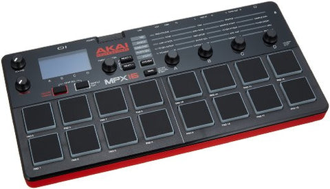 AKAI - MPX16 SD SAMPLE RECORDER AND PLAYER