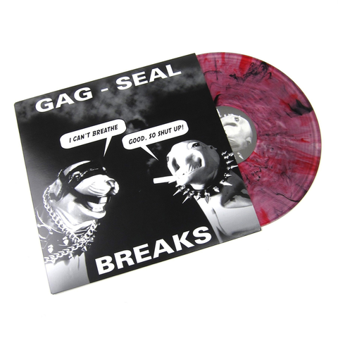 Q-BERT - GAG SEAL BREAKS LP (BLACK/RED VINYL)
