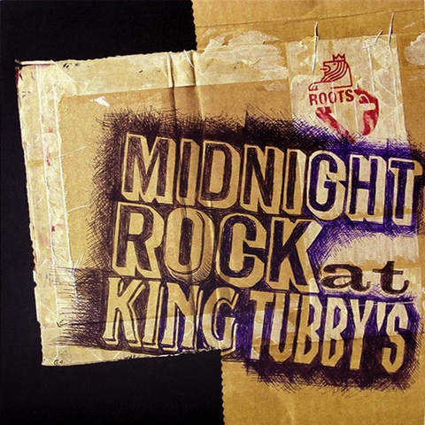 KING TUBBY - MIDNIGHT ROCK AT KING TUBBY'S LP
