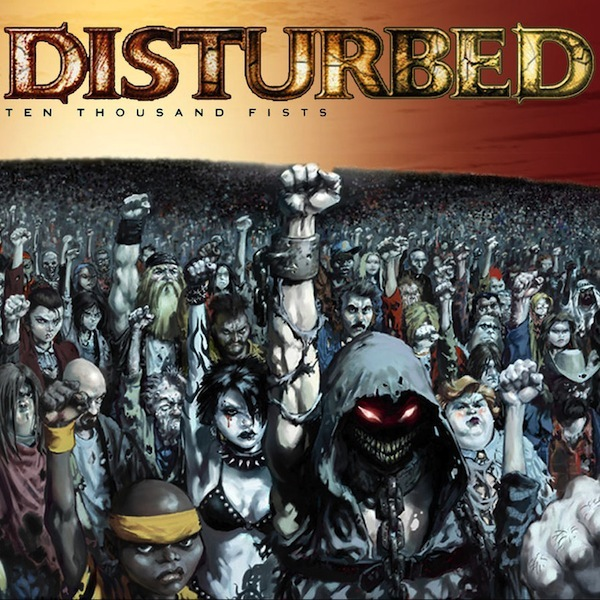 DISTURBED - TEN THOUSAND FISTS 2LP